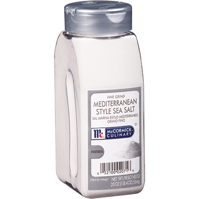 McCormick® Culinary® Sea Salt, Mediterranean Fine Grind