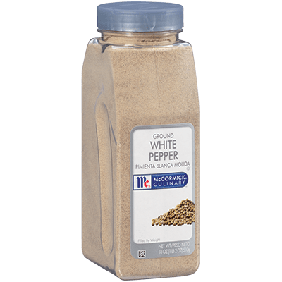 McCormick® Culinary® White Pepper, Ground