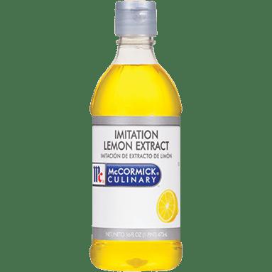 McCormick Culinary Imitation Lemon Extract