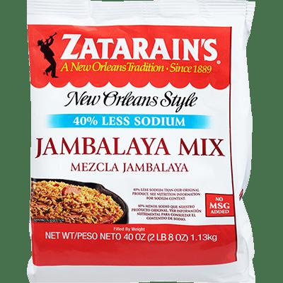 Zatarains® Jambalaya Mix, Reduced Sodium