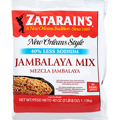 Zatarains® Jambalaya Mix, Reduced Sodium