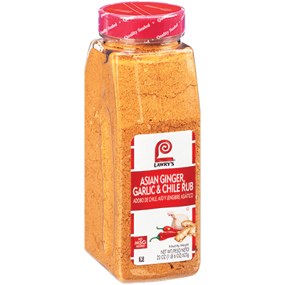 Lawry's®Asian Ginger, Garlic & Chile Rub