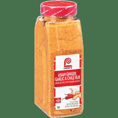 Lawry's®Asian Ginger, Garlic & Chile Rub