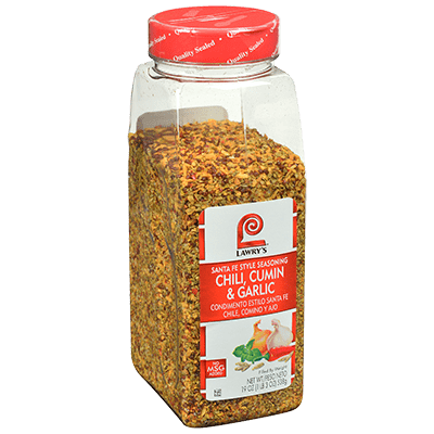 Lawry's Chili Cumin Garlic Santa Fe Style Seasoning
