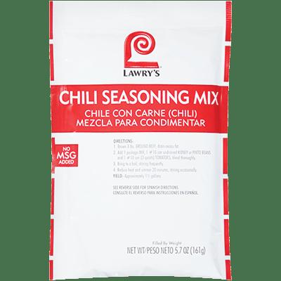 Lawry's Chili Seasoning Mix