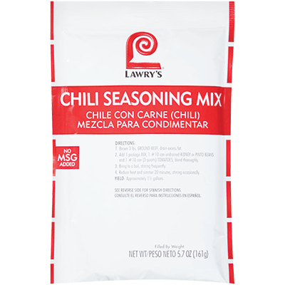 Lawry's®Chili Seasoning Mix