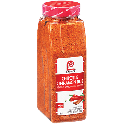 Lawry's®Chipotle Cinnamon Rub