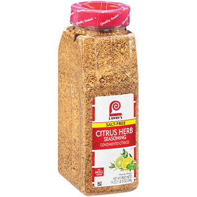 Lawry's®Citrus Herb Seasoning, Salt Free