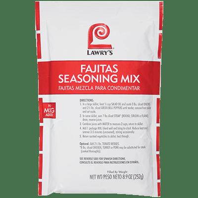 Lawry's®Fajitas Seasoning Mix
