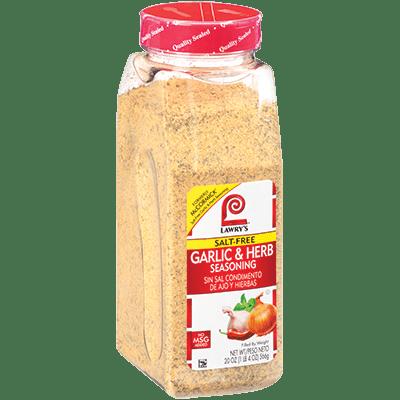 Lawry's®Garlic & Herb Seasoning, Salt Free