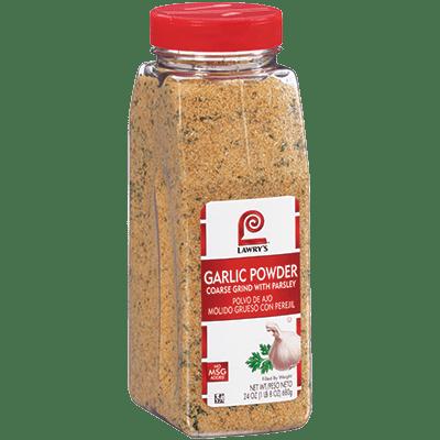Lawry's Garlic Powder Coarse Grind with Parsley