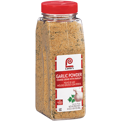 Lawry's®Garlic Powder, Coarse Grind with Parsley