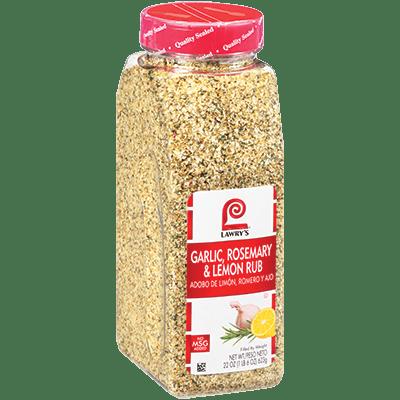 Lawry's®Garlic, Rosemary & Lemon Rub