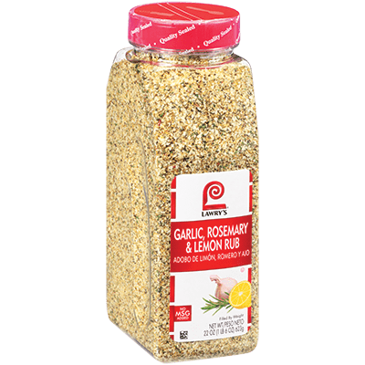 Lawry's Garlic Rosemary Lemon Rub