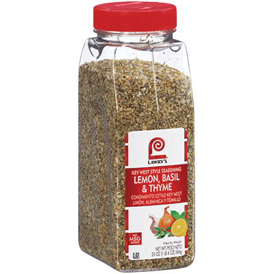 Lawry's®Lemon, Basil & Thyme, Key West Seasoning