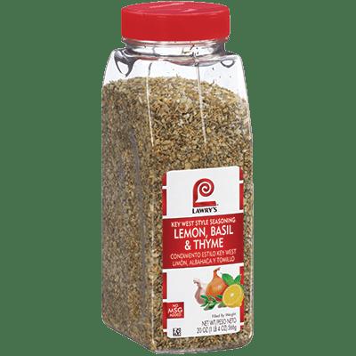 Lawry's®Lemon, Basil & Thyme, Key West Seasoning