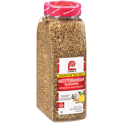 Lawry's®Mediterranean Seasoning, Touch of Sea Salt
