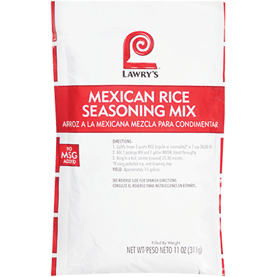 Lawry's®Mexican Rice Seasoning Mix