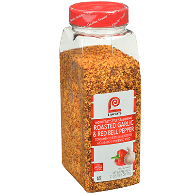 Lawry's®Roasted Garlic & Red Bell Pepper, Monterey Style Seasoning