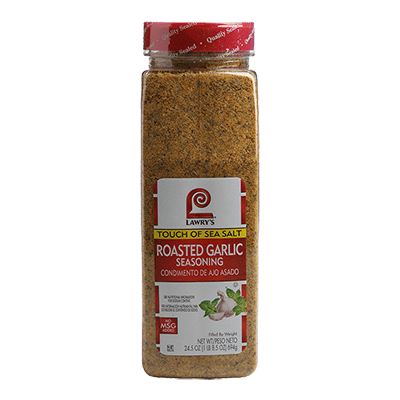 Lawry's Roasted Garlic Seasoning Touch of Sea Salt