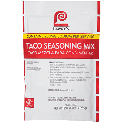 Lawry's®Taco Seasoning Mix