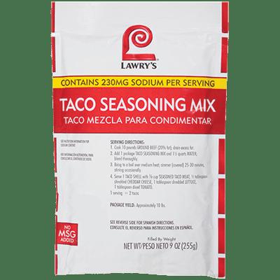 Lawry's Taco Seasoning Mix