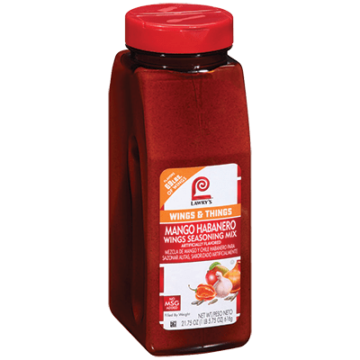 Lawry's®Mango Habanero Wings Seasoning Mix