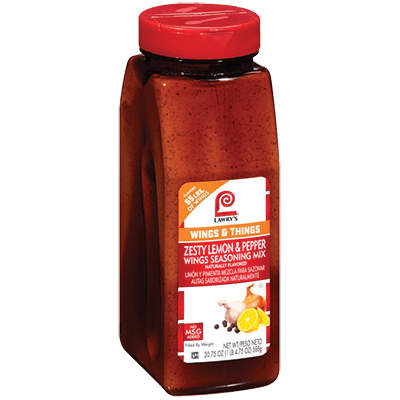 Lawry's®Zesty Lemon & Pepper Wings Seasoning Mix