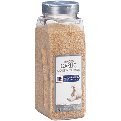 McCormick® Culinary® Garlic, Minced
