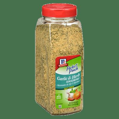 McCormick Culinary Garlic Herb Seasoning Salt Free