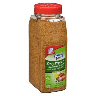McCormick® Culinary® Zesty Pepper Seasoning Blend