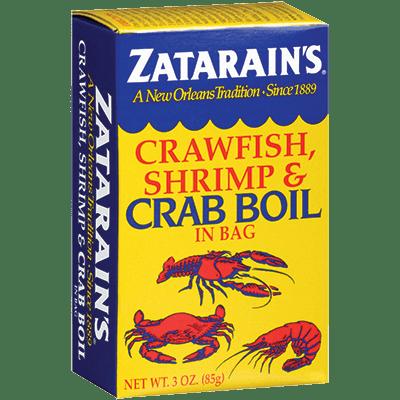 Zatarains® Crab & Shrimp Boil, Pre-Seasoned