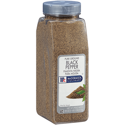 McCormick® Culinary® Black Pepper, Pure Ground