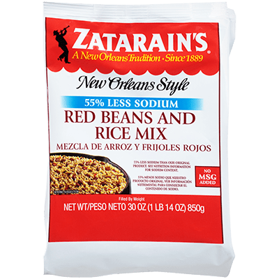 Zatarains® Red Beans & Rice Mix, Reduced Sodium