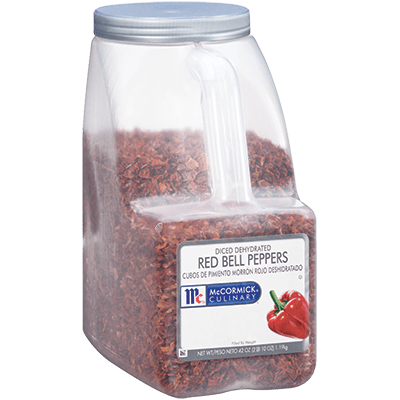 McCormick® Culinary® Bell Pepper, Red Dices