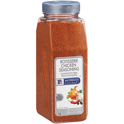 McCormick® Culinary® Rotisserie Chicken Seasoning