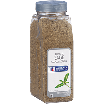 McCormick Culinary Sage Rubbed