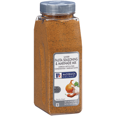McCormick® Culinary® Fajita Seasoning & Marinade, Savory