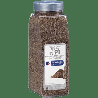 McCormick Culinary Black Pepper Shaker Grind