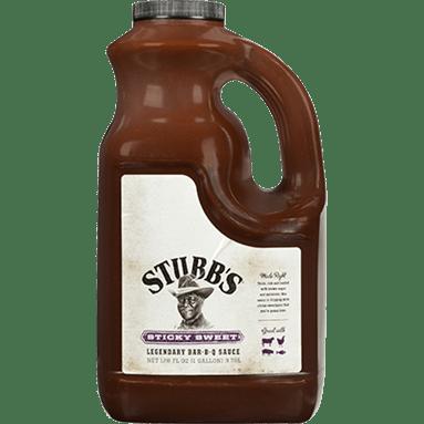 STUBBS Sticky Sweet Legendary BarBQ Sauce
