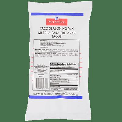 McCormick Culinary Taco Seasoning Mix Pouch 11 oz