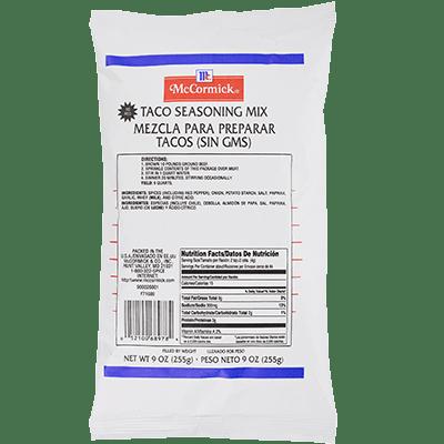 McCormick® Culinary® Taco Seasoning Mix Pouch 9 oz.