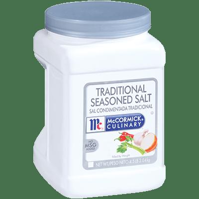 McCormick® Culinary® Seasoned Salt, Traditional