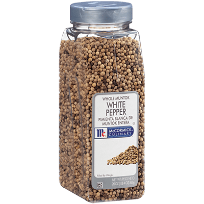 White Pepper Whole Mccormick For Chefs