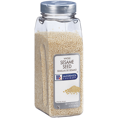 McCormick® Culinary® Sesame Seeds, White