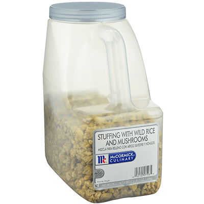 McCormick® Culinary® Wild Rice & Mushroom Stuffing