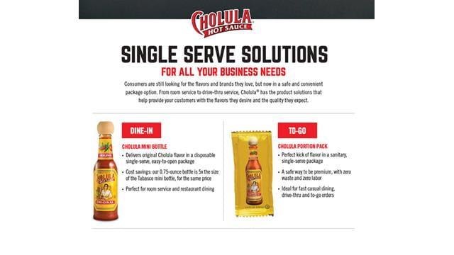 Single serve solutions