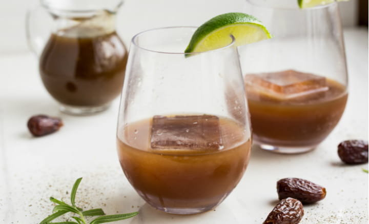 Black Pepper Date Cocktail