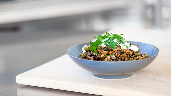 Braised Beluga Lentils And Fennel Mccormick For Chefs