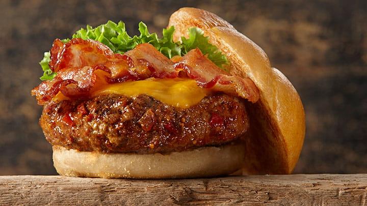 Brown Sugar Bourbon Bacon Burger